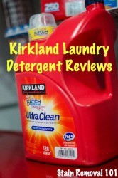 Kirkland laundry detergent reviews