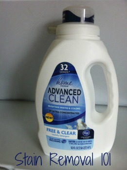Kroger Home Sense Laundry Detergent Review Free Amp Clear Scent