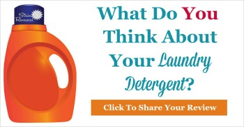 What do you think about your laundry detergent, share your review
