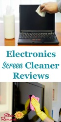 Electronics Screen Cleaners