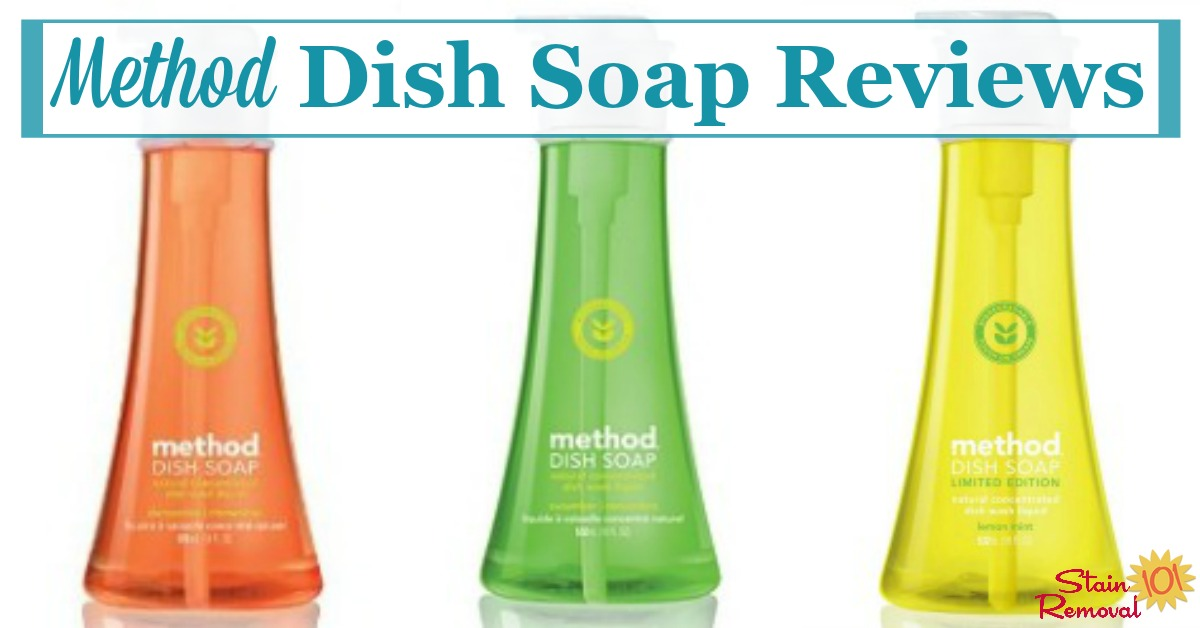 Method dish soap reviews, to find out what real people think of this eco-friendly dishwashing liquid {on Stain Removal 101}