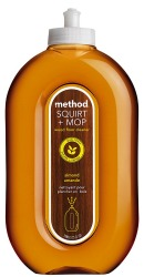 Method Squirt + Mop Wood Floor Cleaner, Almond Scent
