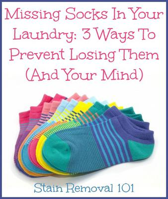 Missing Socks In Your Laundry: 3 Ways To Prevent Losing Them