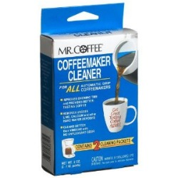 Vinegar Cleaning Solution For Coffee Maker : Mr. Coffee Coffeemaker Cleaner Reviews And Opinions