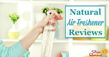Natural air freshener reviews