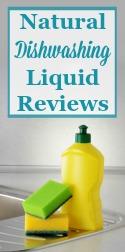 Natural Dishwashing Liquid Reviews