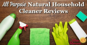 All purpose natural household cleaners reviews