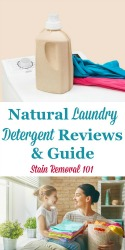 Natural Laundry Detergent Brand Reviews