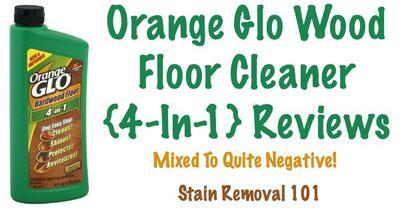 Orange Glo Wood Floor Cleaner Polish