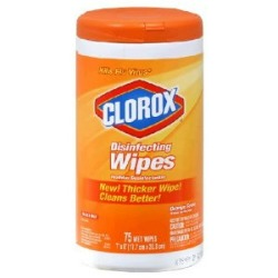 Orange Scented Clorox Wipes Keep My Home Clean For 1 Year Old