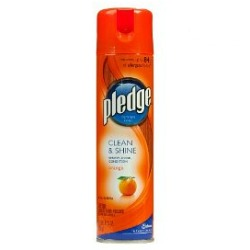 Pledge Clean U0026 Shine Orange Furniture Polish Spray Is My Favorite