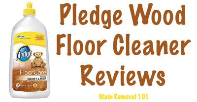 Pledge Wood Floor Cleaner Review - Just Squirt And Mop It Up - Pledge Wood Floor Cleaner Reviews & Experiences