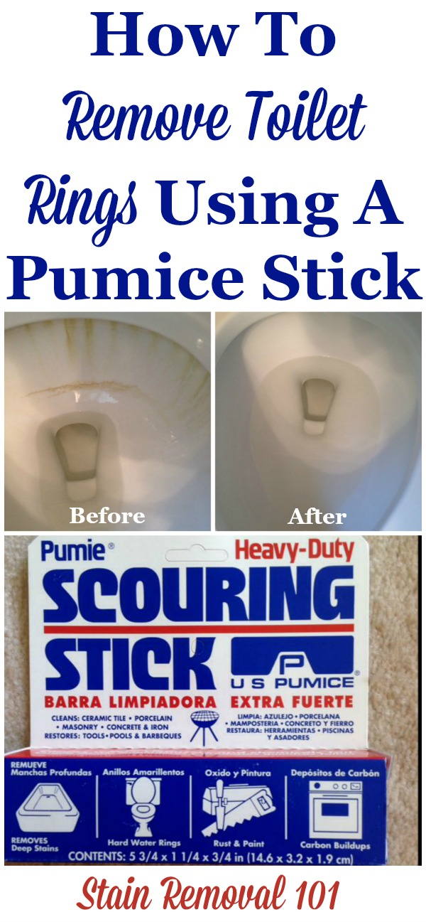 How To Remove Toilet Rings Using A Pumice Stick And Why You Should Too