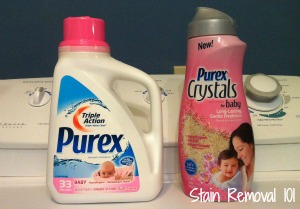 purex baby laundry products