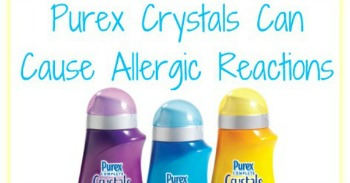 Purex Crystals allergic reaction