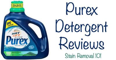 purex detergent reviews the good the bad