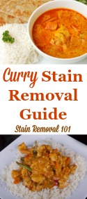 How To Remove Curry Stains