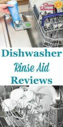 Dishwasher Rinse Agent Reviews