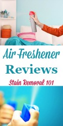 Room Air Freshener Reviews