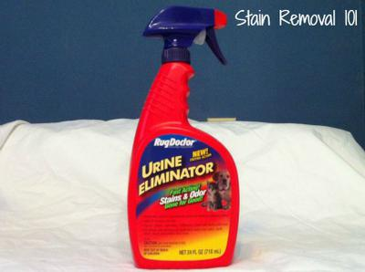 - Rug Doctor Urine Eliminator Review: Trigger Spray