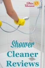 Shower Cleaners Reviews