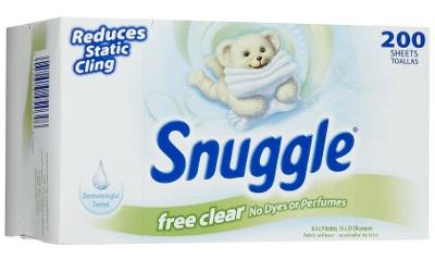 Snuggle Free Amp Clear Fabric Softener Amp Dryer Sheets Reviews