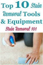 Stain Removal Equipment