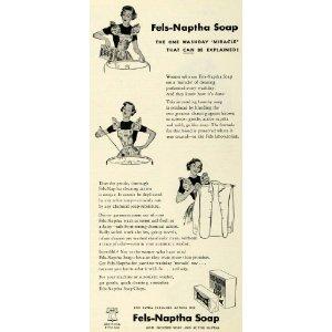 1949 Fels Naptha Soap Ad