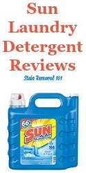 Sun Laundry Detergent