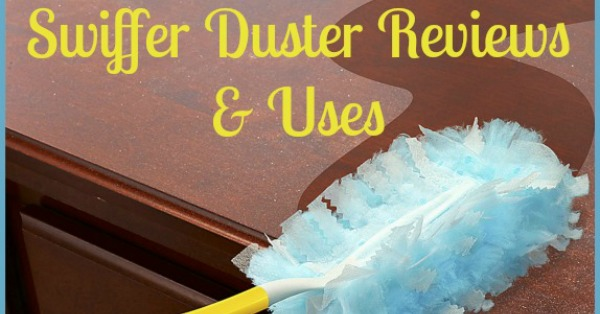 Swiffer Duster reviews and uses all around your home {on Stain Removal 101}