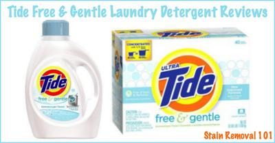 Tide Free And Gentle Detergent Reviews & Experiences