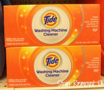 Tide Washer Cleaner Made My Washing Machine Smell Better