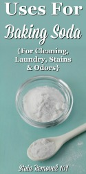 Uses For Baking Soda For Cleaning