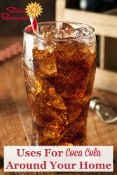 Uses For Coca Cola Around Your Home