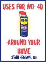 Uses For WD40