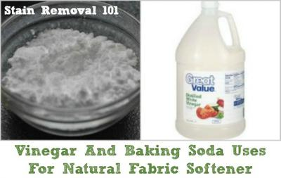 vinegar and baking soda uses for natural laundry fabric softener. Black Bedroom Furniture Sets. Home Design Ideas