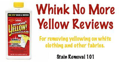 how to clean yellow sweat stains from shirt collars