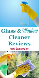 Glass And Window Cleaner