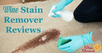 Wine stain remover reviews