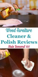 Wood Furniture Cleaner