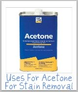 acetone uses