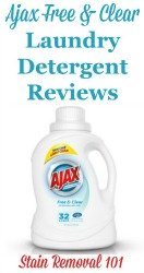 Ajax Free & Clear Laundry Detergent Reviews