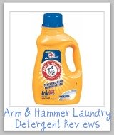 Arm & Hammer laundry detergent reviews