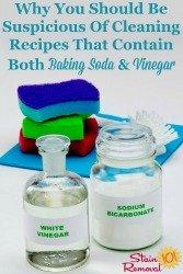 Both Baking Soda And Vinegar