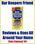 Bar Keepers Friend Uses Around Your Home