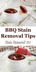 BBQ Stain Removal Tips