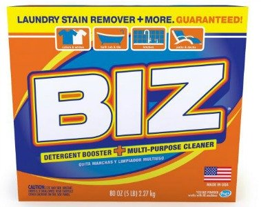 New packaging for BIZ powder