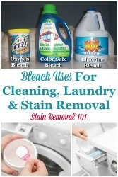 Bleach Uses For Cleaning