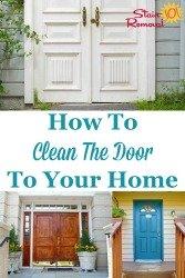 Clean The Door