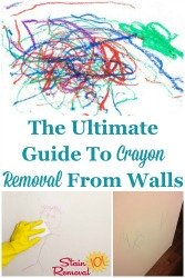 Crayon Removal From Walls